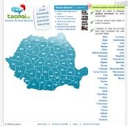 tocmai.ro Homepage Screenshot