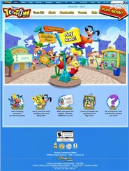 toontown.go.com Homepage Screenshot