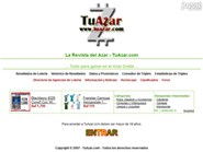 tuazar.com Homepage Screenshot
