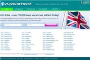 ukjobsnet.co.uk Homepage Screenshot