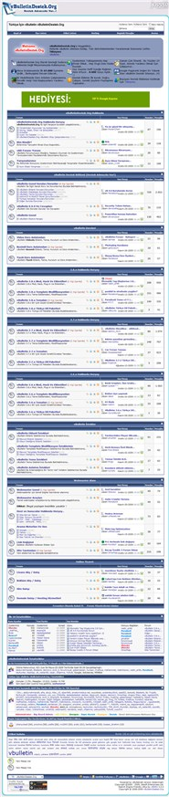 vbulletindestek.org Homepage Screenshot