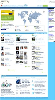 waarbenjij.nu Homepage Screenshot
