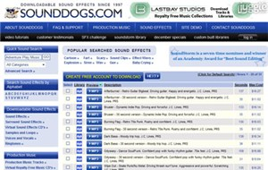 sounddogs.com
