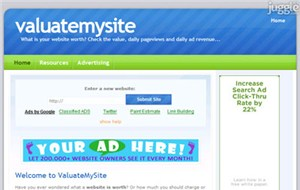 valuatemysite.com
