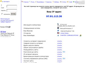 2ip.ru Homepage Screenshot