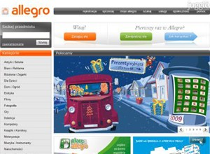 allegro.pl Homepage Screenshot