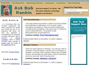 askbobrankin.com Homepage Screenshot