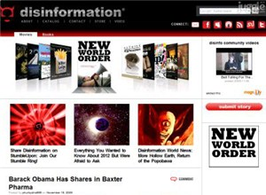 disinfo.com Homepage Screenshot