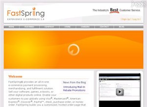 fastspring.com Homepage Screenshot