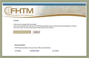 fhtmus.com Homepage Screenshot