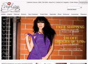 forplaycatalog.com Homepage Screenshot