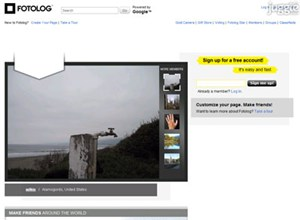 fotolog.net Homepage Screenshot