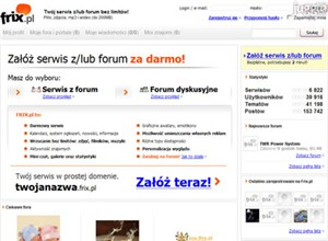 frix.pl Homepage Screenshot