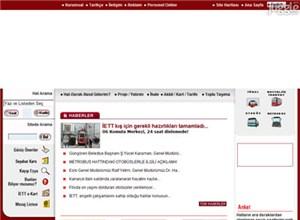 iett.gov.tr Homepage Screenshot