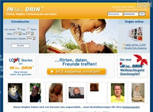 in-ist-drin.de Homepage Screenshot