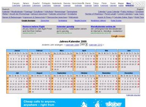kalender-365.de Homepage Screenshot