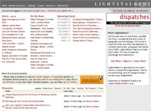 lightstalkers.org Homepage Screenshot