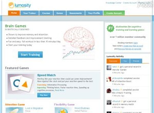 lumosity.com Homepage Screenshot