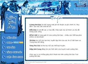 luongsonbac.com Homepage Screenshot