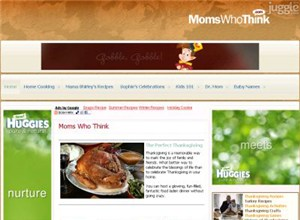 momswhothink.com Homepage Screenshot