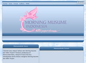 momusuindo.net Homepage Screenshot