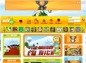 mundonick.com Homepage Screenshot