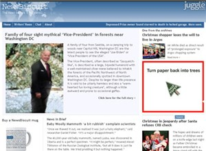newsbiscuit.com Homepage Screenshot