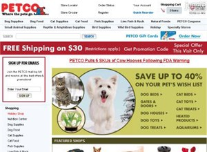 petco.com Homepage Screenshot