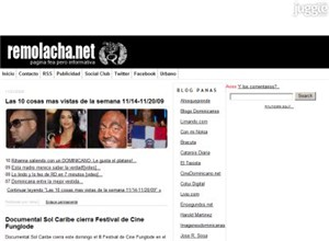 remolacha.net Homepage Screenshot