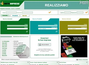 reteimprese.it Homepage Screenshot