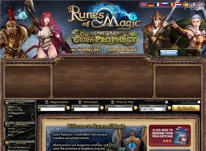 runesofmagic.com Homepage Screenshot
