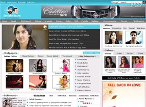 santabanta.com Homepage Screenshot