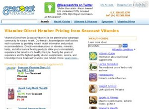 seacoastvitamins.com Homepage Screenshot
