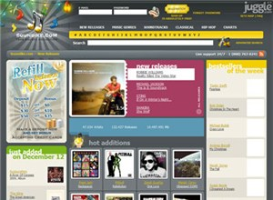 soundike.com Homepage Screenshot