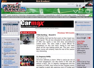 trinituner.com Homepage Screenshot