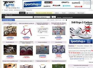troc-velo.com Homepage Screenshot