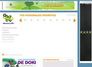 tudiscoverykids.com Homepage Screenshot
