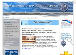 uasd.edu.do Homepage Screenshot