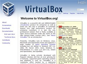 virtualbox.org Homepage Screenshot