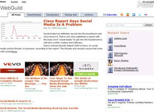 webguild.org Homepage Screenshot