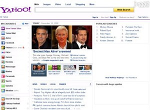 yahoo.com Homepage Screenshot