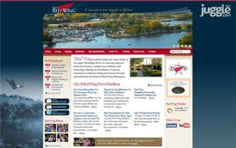 Top Minnesota City Government Websites Homepage Screenshot
