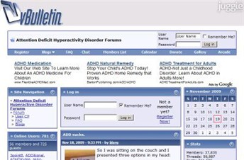 addforums.com Homepage Screenshot