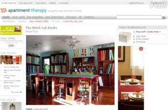 apartmenttherapy.com Homepage Screenshot