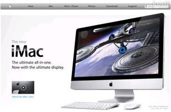 apple.com Homepage Screenshot
