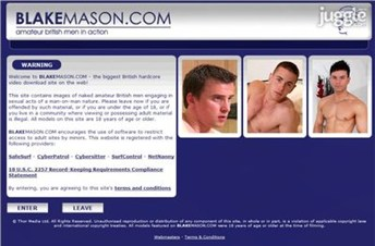 blakemason.com Homepage Screenshot