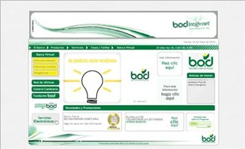 bodinternet.com Homepage Screenshot
