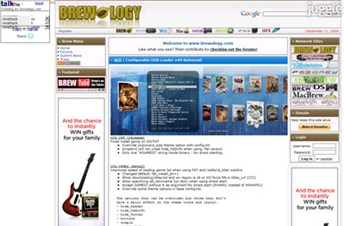 brewology.com Homepage Screenshot