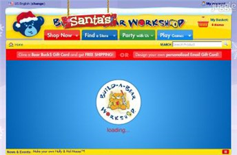 buildabear.com Homepage Screenshot