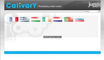 calivary.com Homepage Screenshot